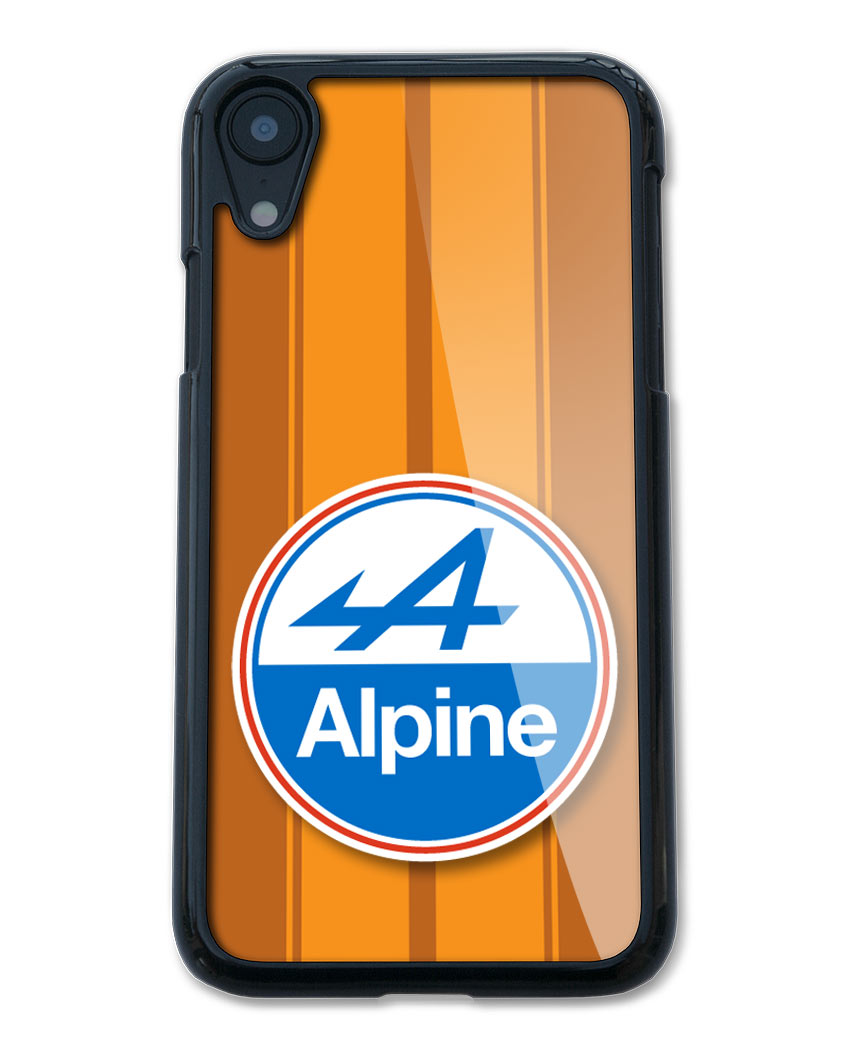 Alpine Renault Badge Emblem Smartphone Case - Racing Stripes