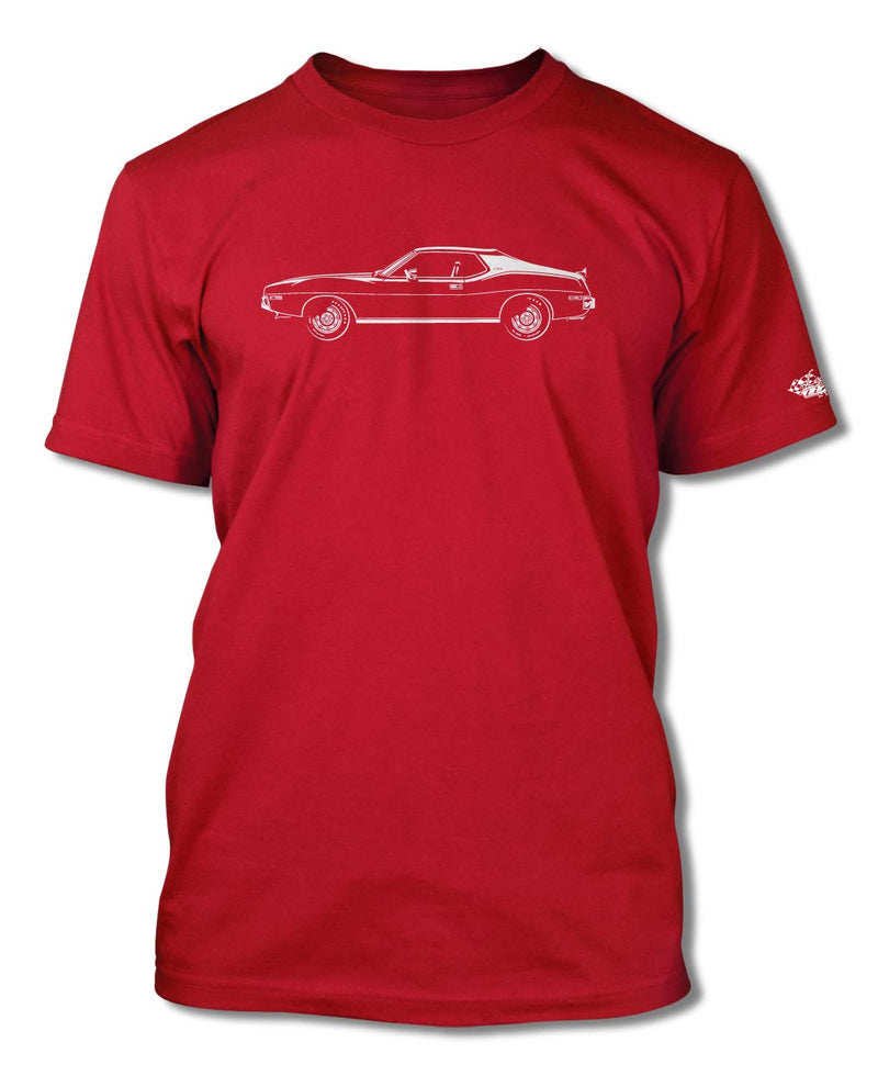 1973 AMC Javelin Coupe T-Shirt - Men - Side View