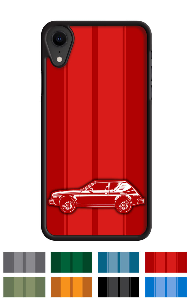 AMC Gremlin X 1977 Smartphone Case - Racing Stripes