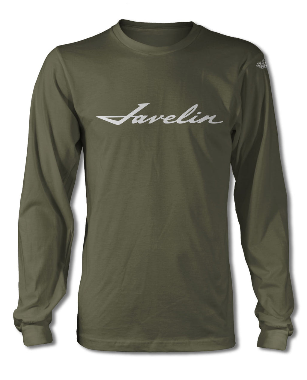 1968 - 1974 AMC Javelin Emblem T-Shirt - Long Sleeves - Emblem