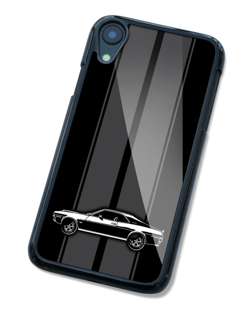 1970 AMC Javelin Coupe Smartphone Case - Racing Stripes