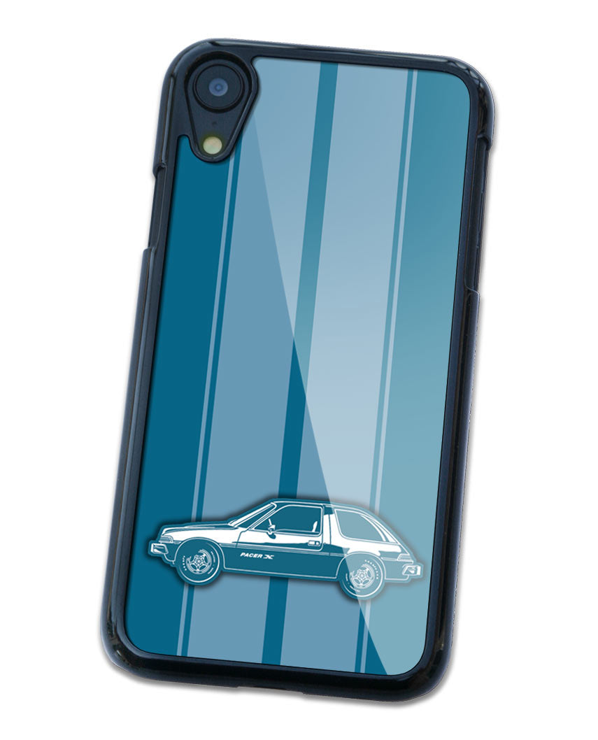 1975 AMC Pacer X Smartphone Case - Racing Stripes