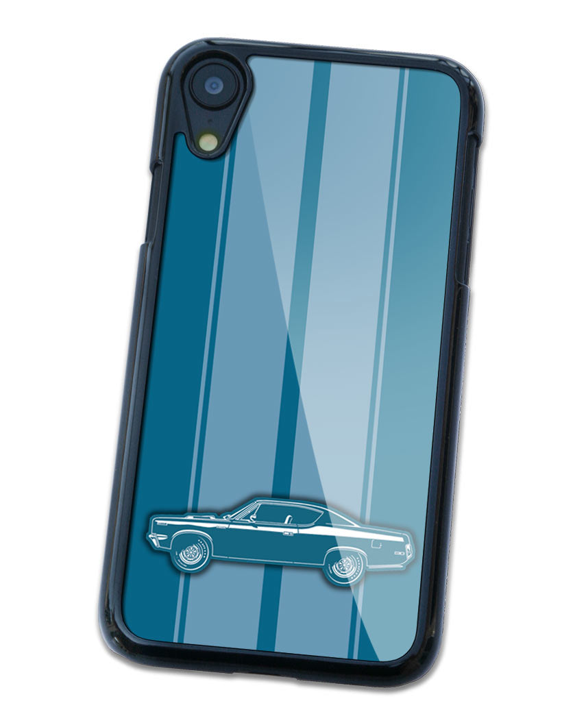 1970 AMC Rebel The Machine Coupe Smartphone Case - Racing Stripes