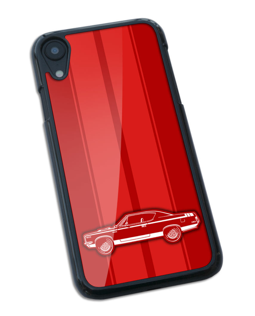 1970 AMC Rebel The Machine Coupe Stripes Smartphone Case - Racing Stripes