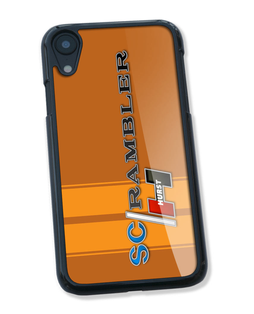 1969 AMC Hurst S/C Rambler Emblem Smartphone Case - Racing Stripes