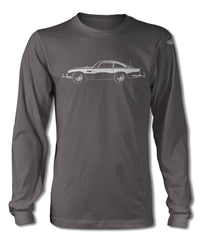 Aston Martin DB5 Coupe James Bond 007 T-Shirt - Long Sleeves - Side View