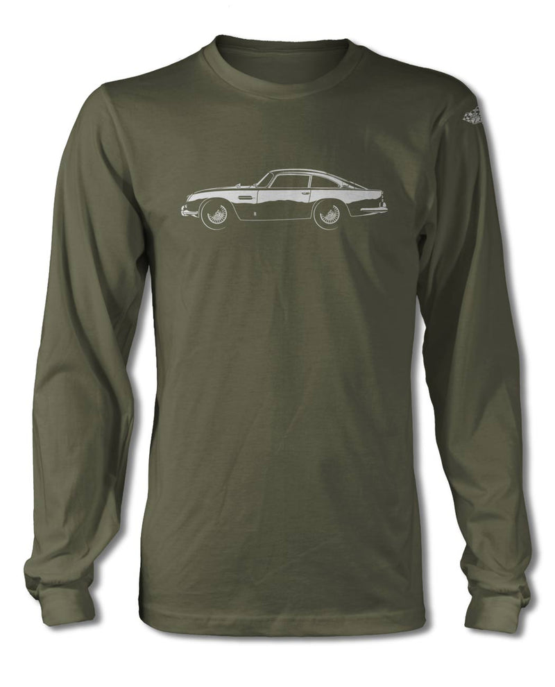 Aston Martin DB5 Coupe T-Shirt - Long Sleeves - Side View