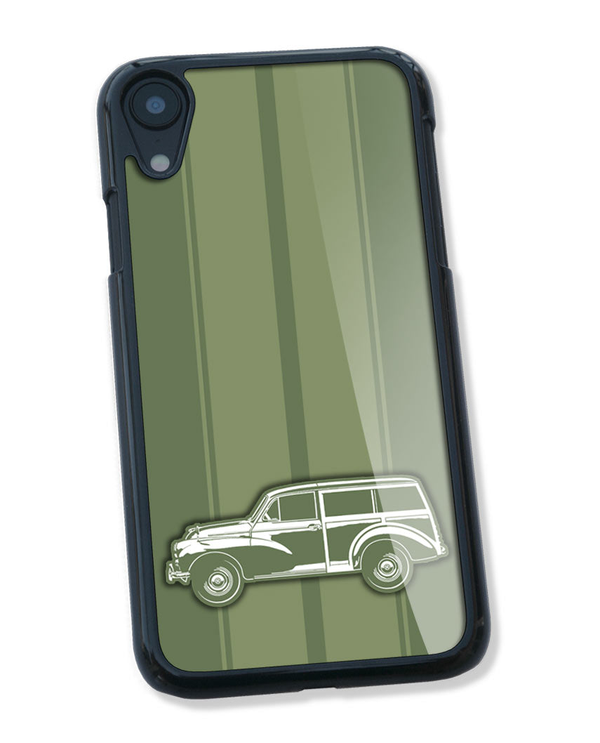 Morris Minor Traveller Woody Smartphone Case - Racing Stripes