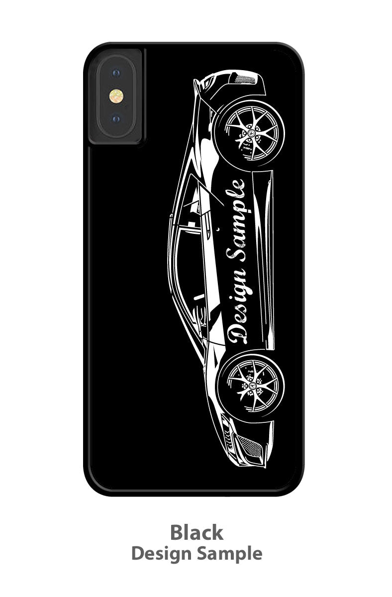 1969 Plymouth Barracuda 'Cuda 340 Fastback Smartphone Case - Side View