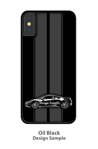 1969 Chevrolet Corvette Stingray Coupe T-Top C3 Smartphone Case - Racing Stripes