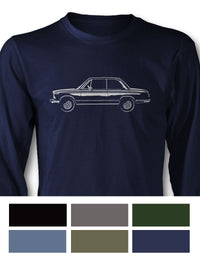 BMW 2002 1600 Coupe Long Sleeve T-Shirt - Side View