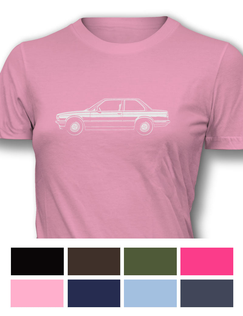 BMW 318i Coupe Women T-Shirt - Side View