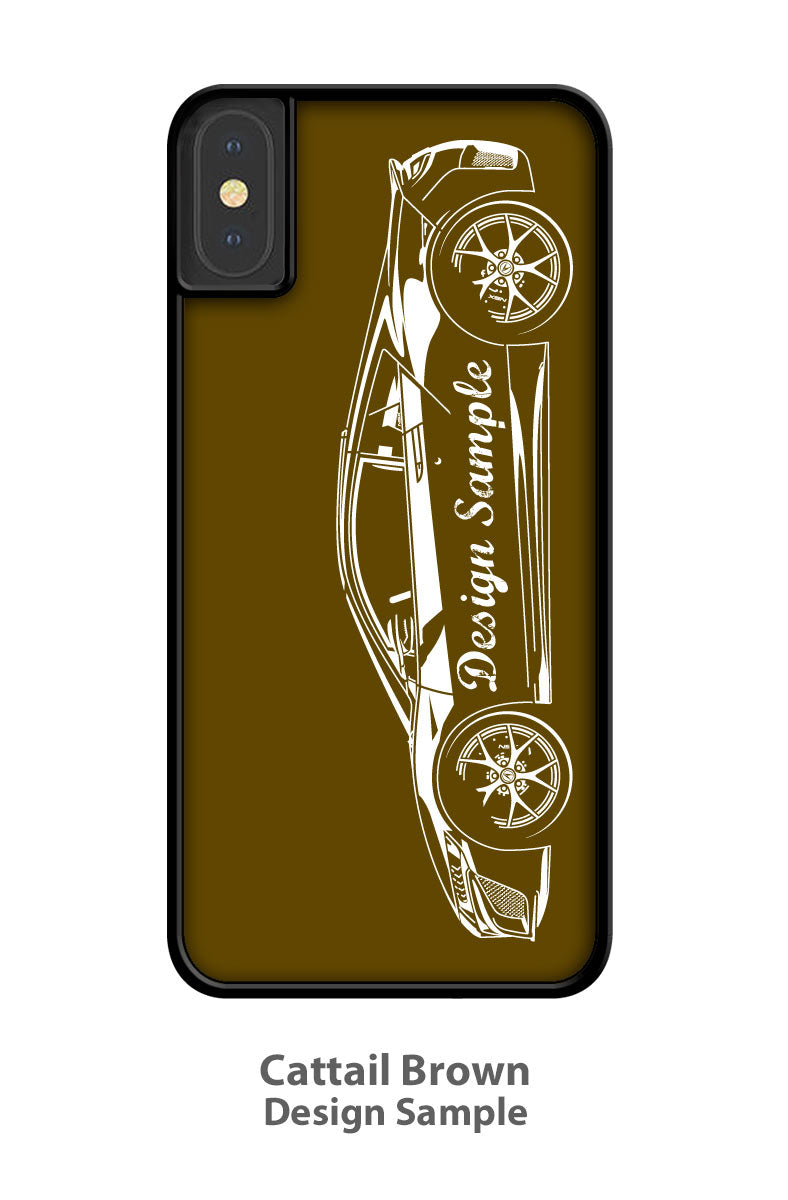 1972 Plymouth Road Runner 440 Coupe Smartphone Case - Side View