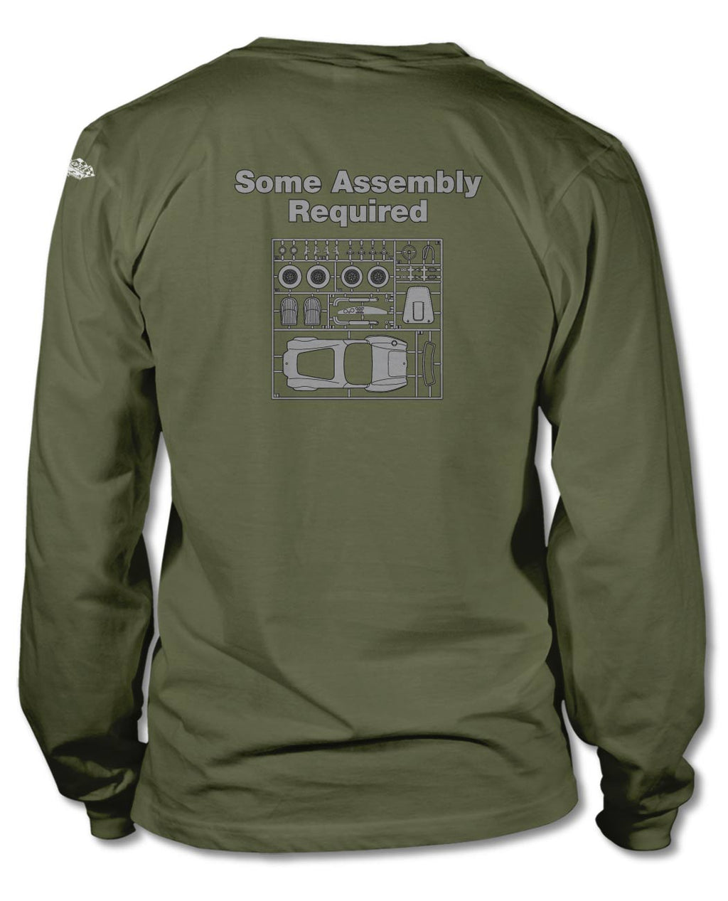 1965 AC Shelby Cobra 427 SC Assembly Required T-Shirt - Long Sleeves