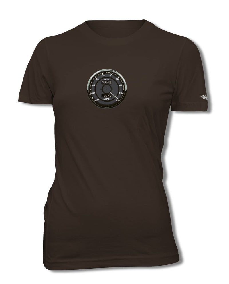 1965 AC Shelby Cobra 427 289 Smiths Speedometer T-Shirt - Women