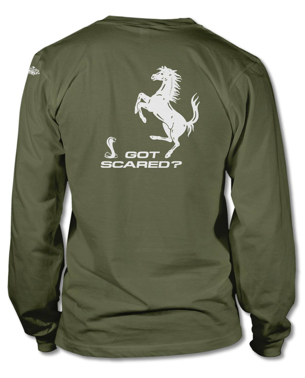 "1965 AC Shelby Cobra ""F******-Cobra Wars"" Got Scared? T-Shirt  - Long Sleeves"