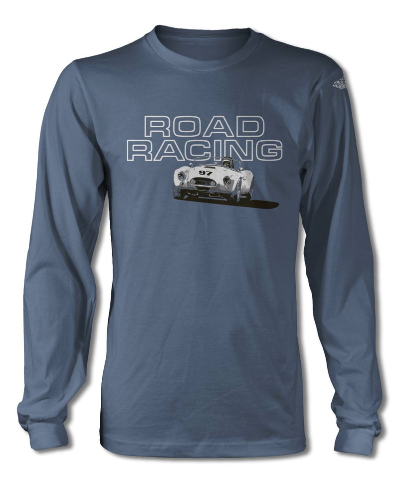 1965 AC Shelby Cobra 427 SC 289 FIA Road Racing T-Shirt - Long Sleeves