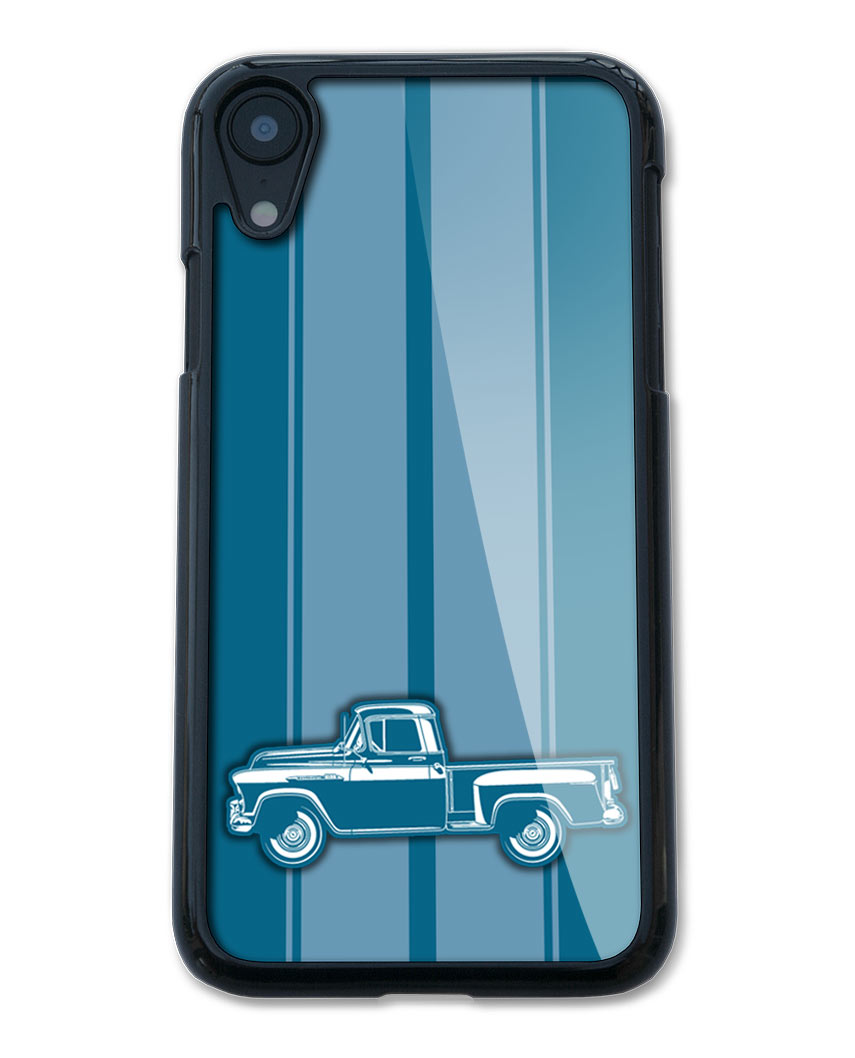 1956 Chevrolet Pickup 3100 Smartphone Case - Racing Stripes