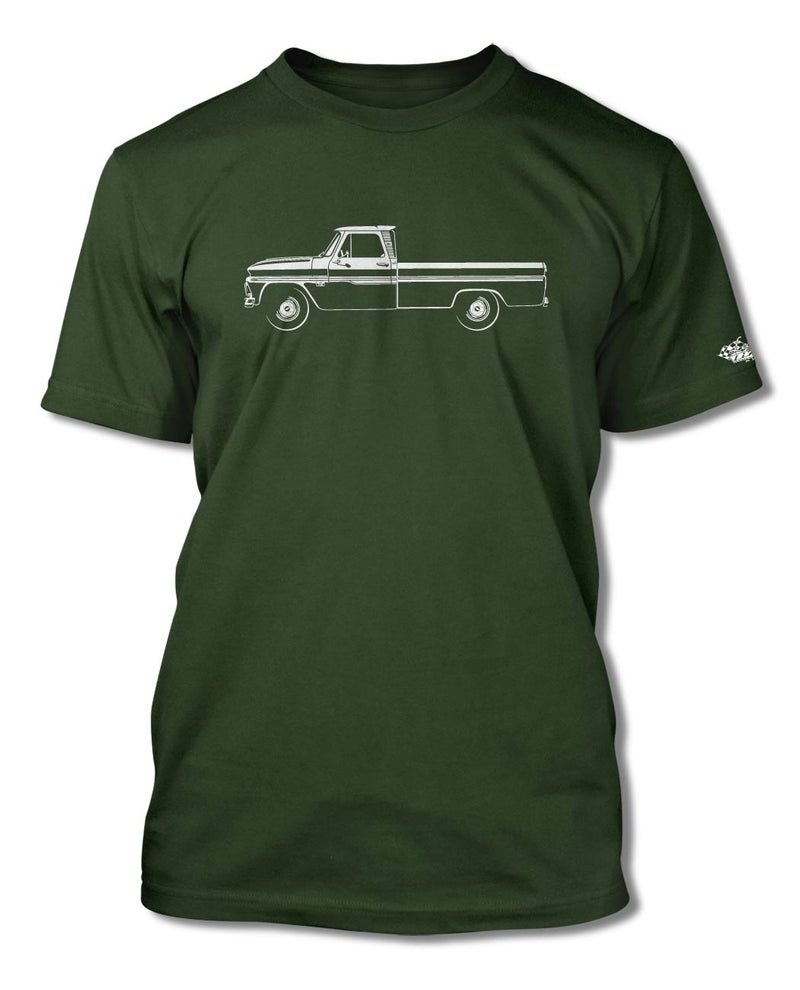 1964 - 1966 Chevrolet Pickup C/K T-Shirt - Men - Side View