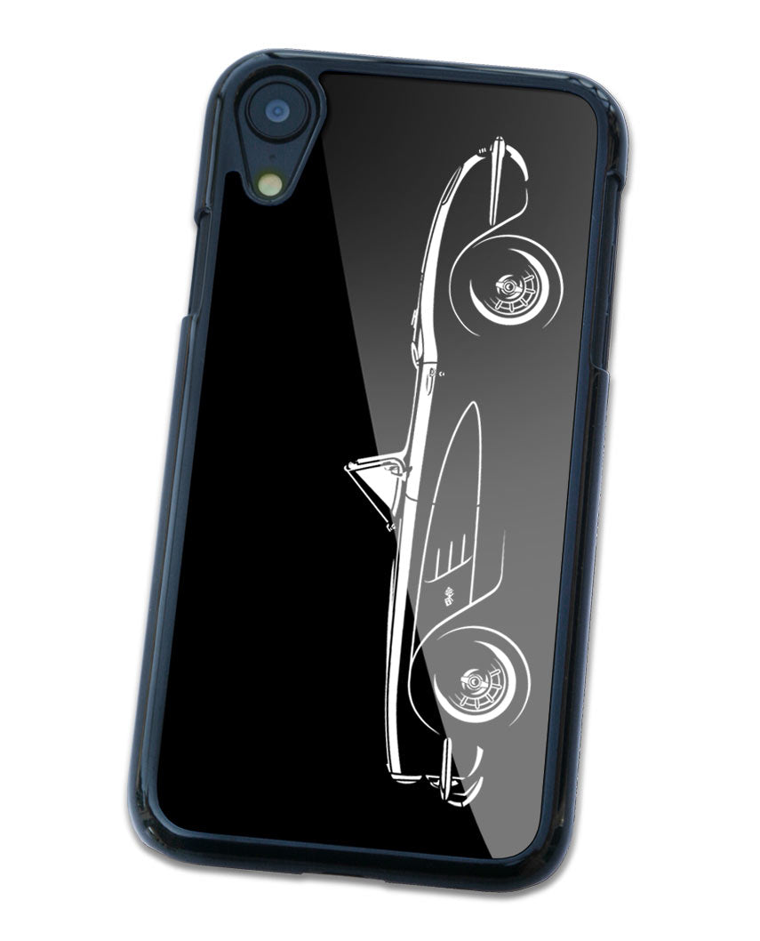 1958 Chevrolet Corvette Convertible C1 Smartphone Case - Side View
