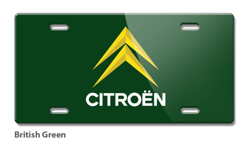 Citroen Badge Emblem Novelty License Plate - Vintage Emblem