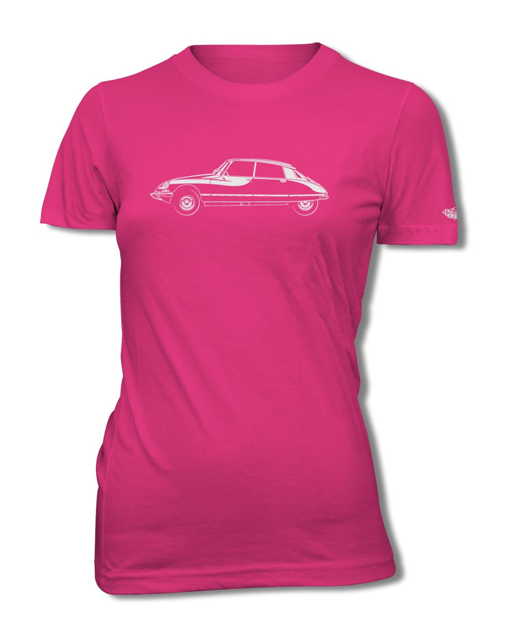 Citroen DS ID 1968 - 1976 Sedan 4 doors T-Shirt - Women - Side View