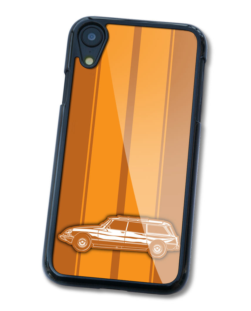 Citroen DS ID 1968 - 1976 Station Wagon Smartphone Case - Racing Stripes