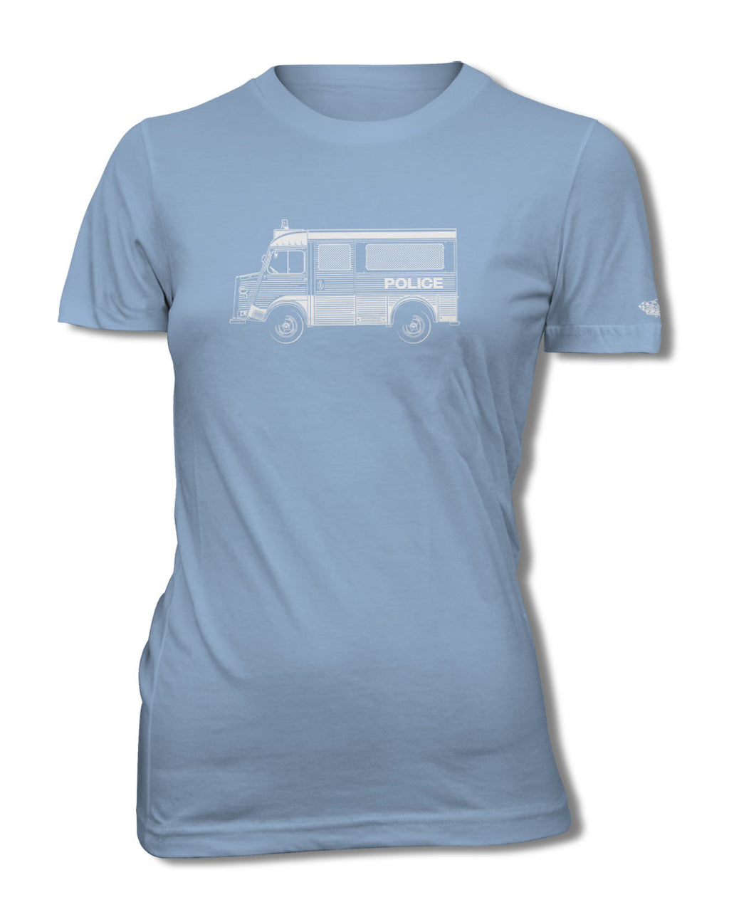 Citroen HY Type H Police Nationale 1947 – 1981 T-Shirt - Women - Side View