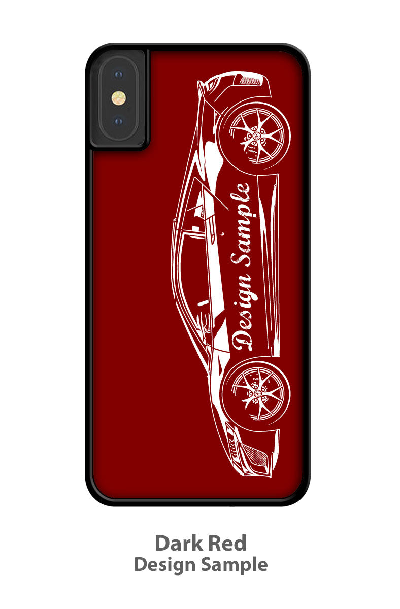 1970 Plymouth Superbird R. PETTY - NASCAR Smartphone Case - Side View
