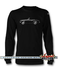 Datsun Roadster 2000 1600 Fairlady T-Shirt - Long Sleeves - Side View