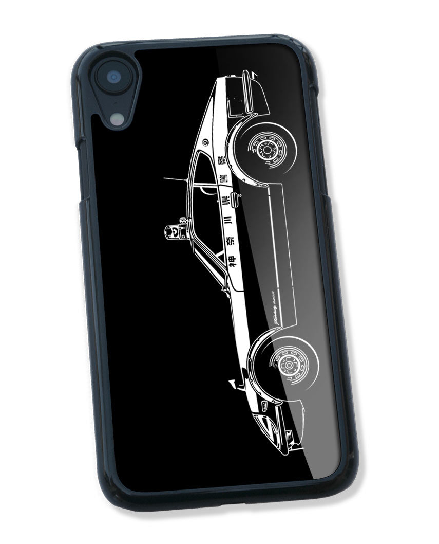 Datsun Fairlady 240Z Japanese Police 1972 Smartphone Case - Side View
