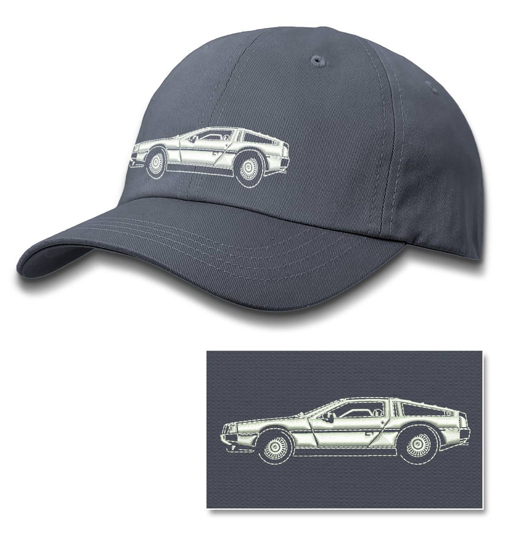 1981 DeLorean DMC-12 Coupe Baseball Cap for Men & Women