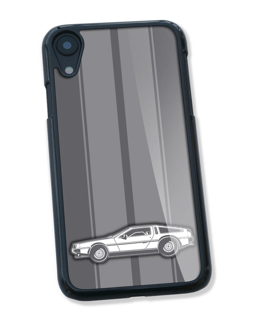 1981 DeLorean DMC-12 Coupe Smartphone Case - Racing Stripes