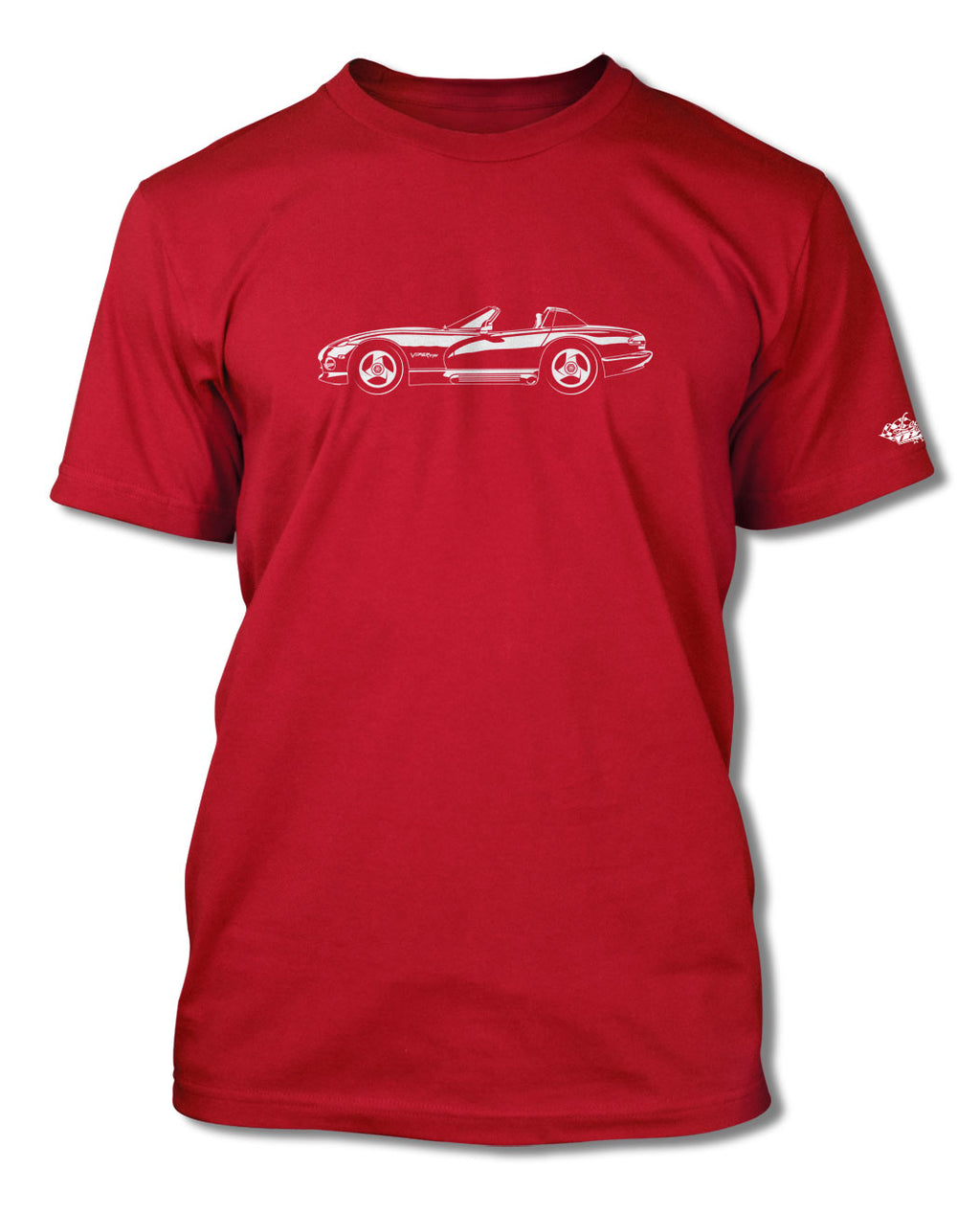 1991 - 1995 Dodge Viper SR1 T-Shirt - Men - Side View