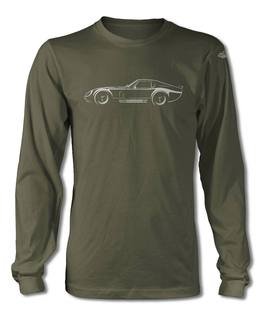 1964 Daytona Coupe Art of Light T-Shirt - Long Sleeves