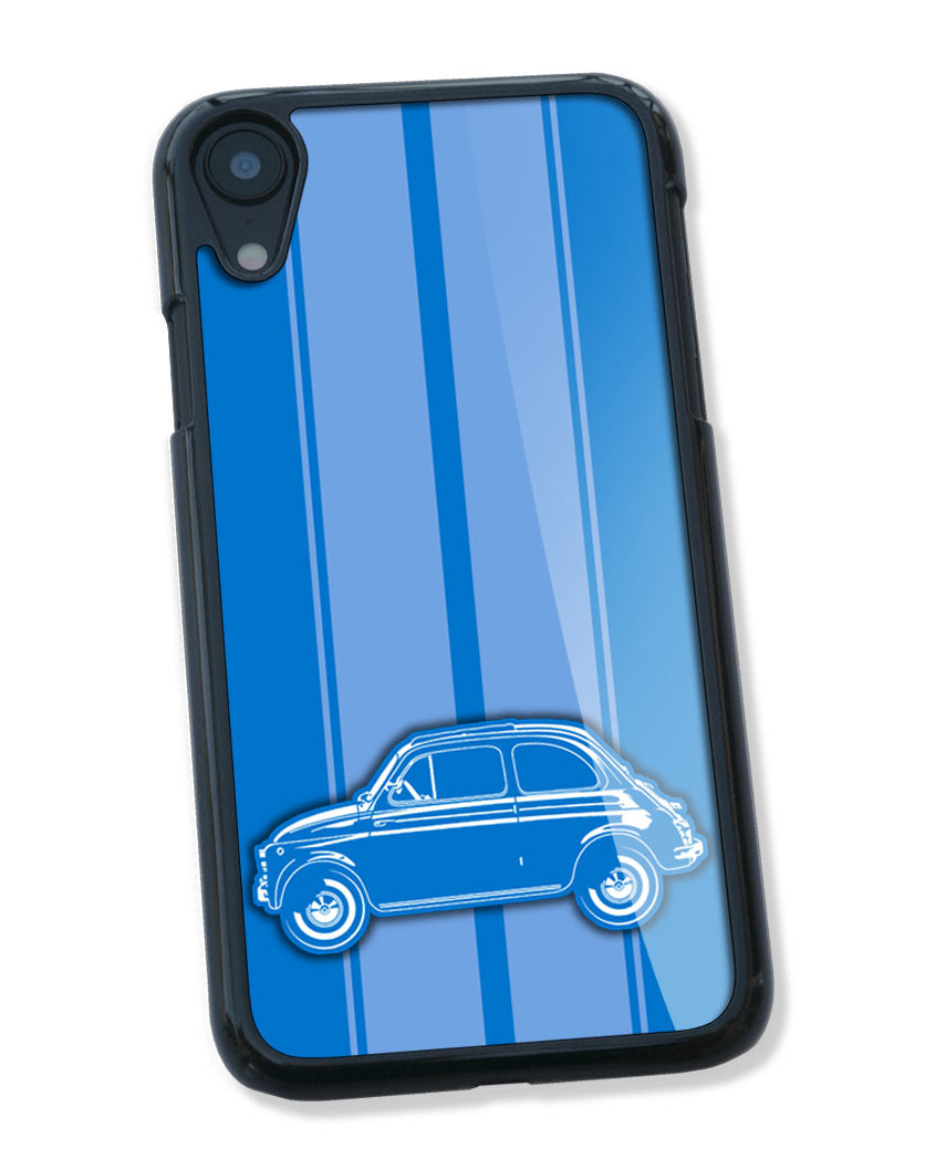 Fiat 500 Smartphone Case - Racing Stripes