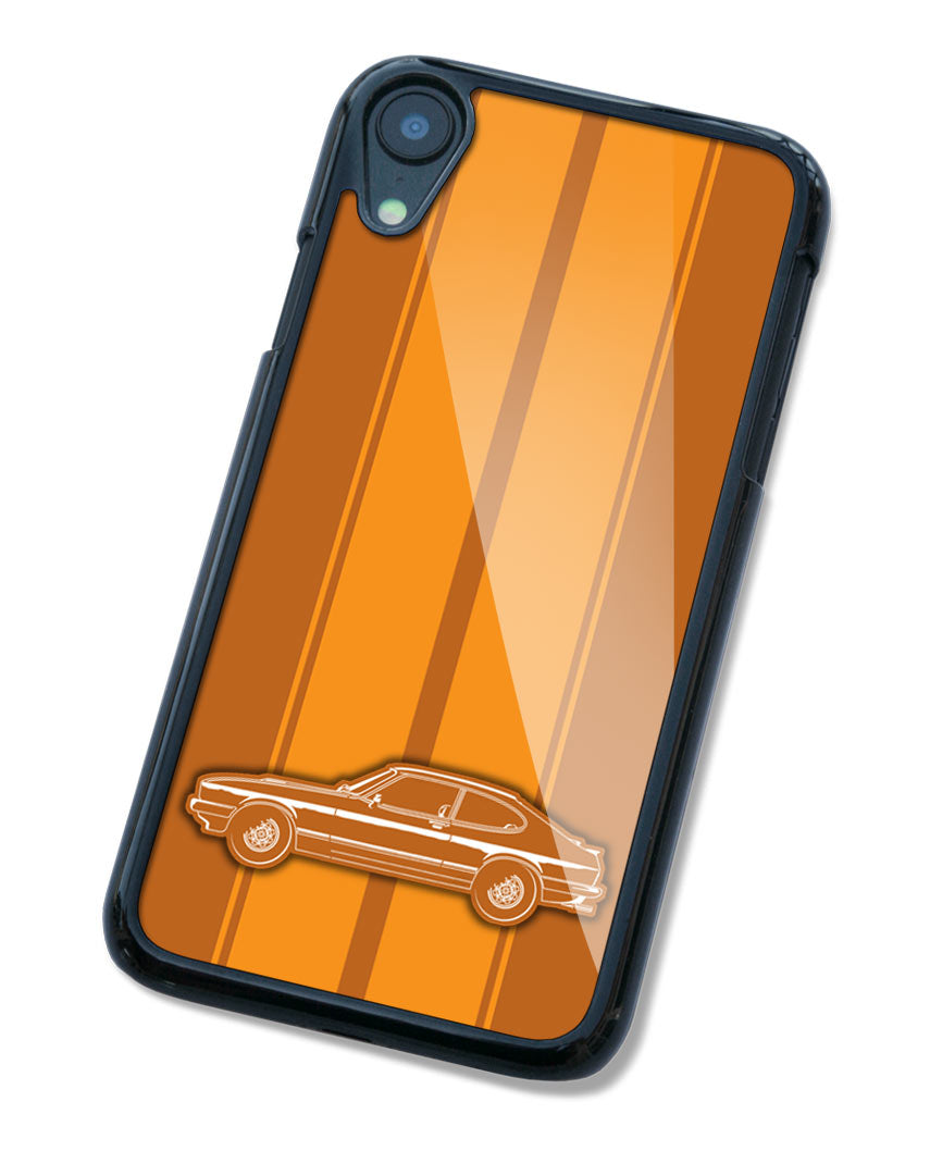 Ford Capri MK III Coupe Smartphone Case - Racing Stripes