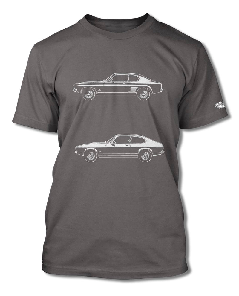 Ford Capri MK I Coupe T-Shirt - Men - Side View