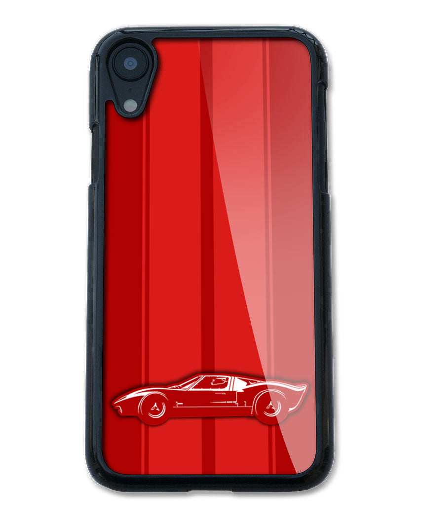 1965 Ford GT40 Smartphone Case - Racing Stripes