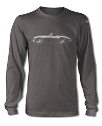 Austin Healey 3000 MKIII Convertible T-Shirt - Long Sleeves - Side View
