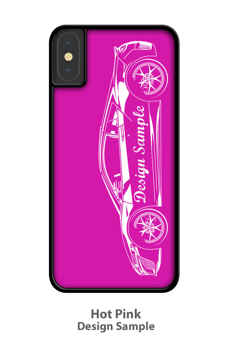 Amphicar Hans Trippel 1961 - 1968 Smartphone Case - Side View