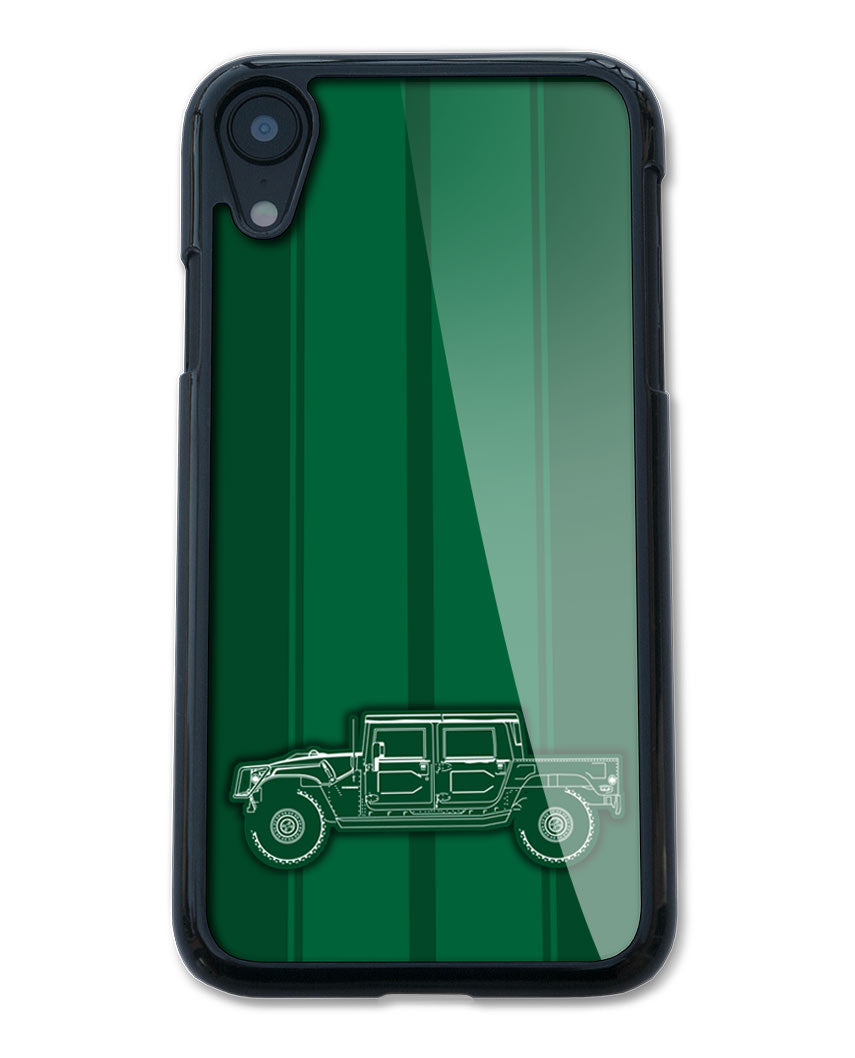 Hummer H1 Pick-Up 4x4 Smartphone Case - Racing Stripes