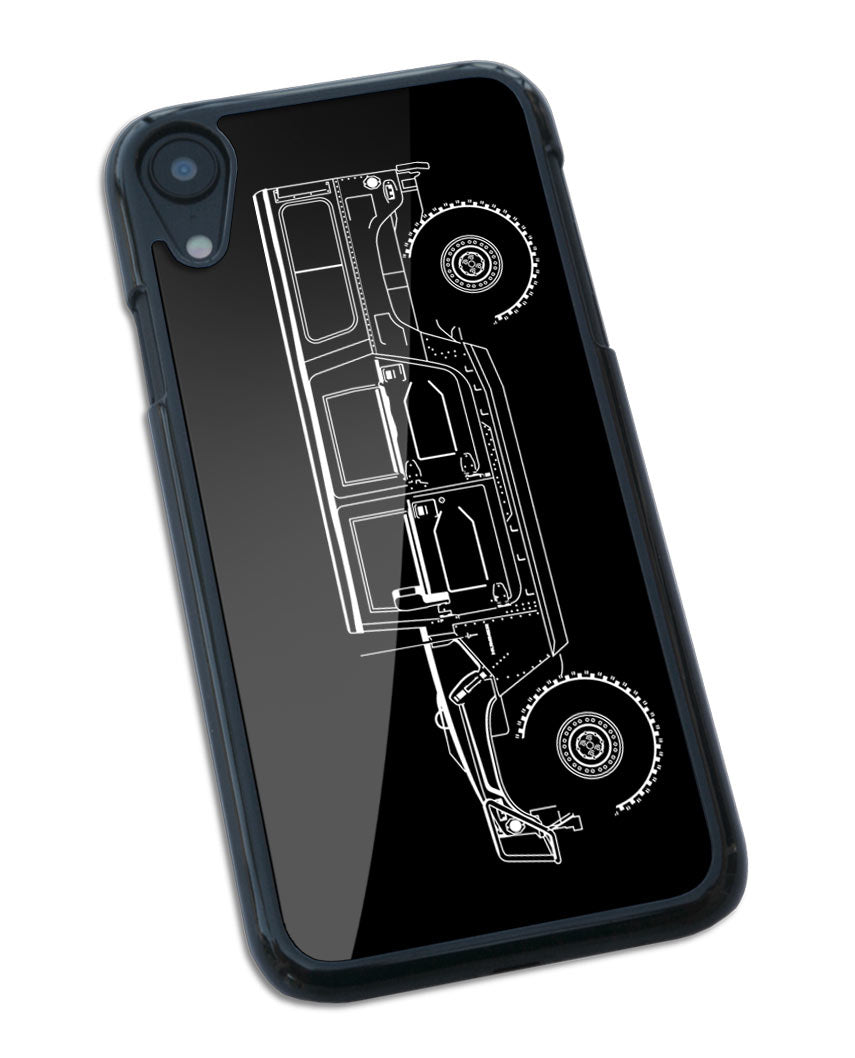Hummer H1 Station Wagon 4x4 Smartphone Case - Side View