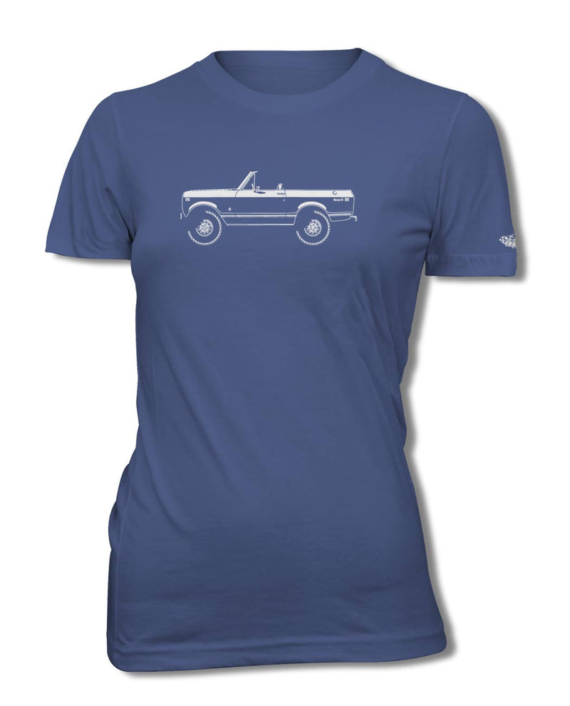 1971 - 1980 International Scout II T-Shirt - Women - Side View