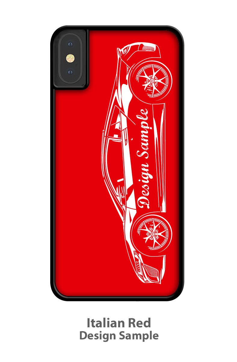 1970 AMC Rebel The Machine Coupe Stripes  Smartphone Case - Side View
