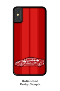 Fiat 850 Coupe Sport Smartphone Case - Racing Stripes