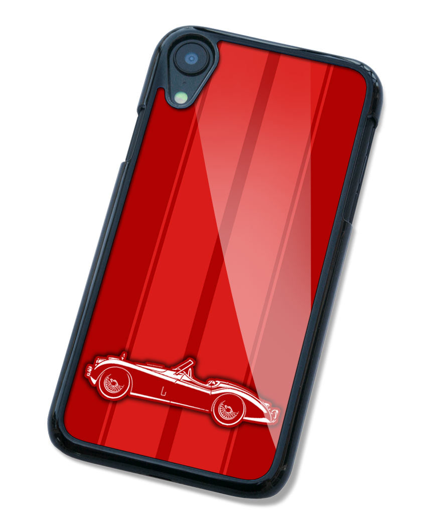 Jaguar XK 120 Convertible Smartphone Case - Racing Stripes