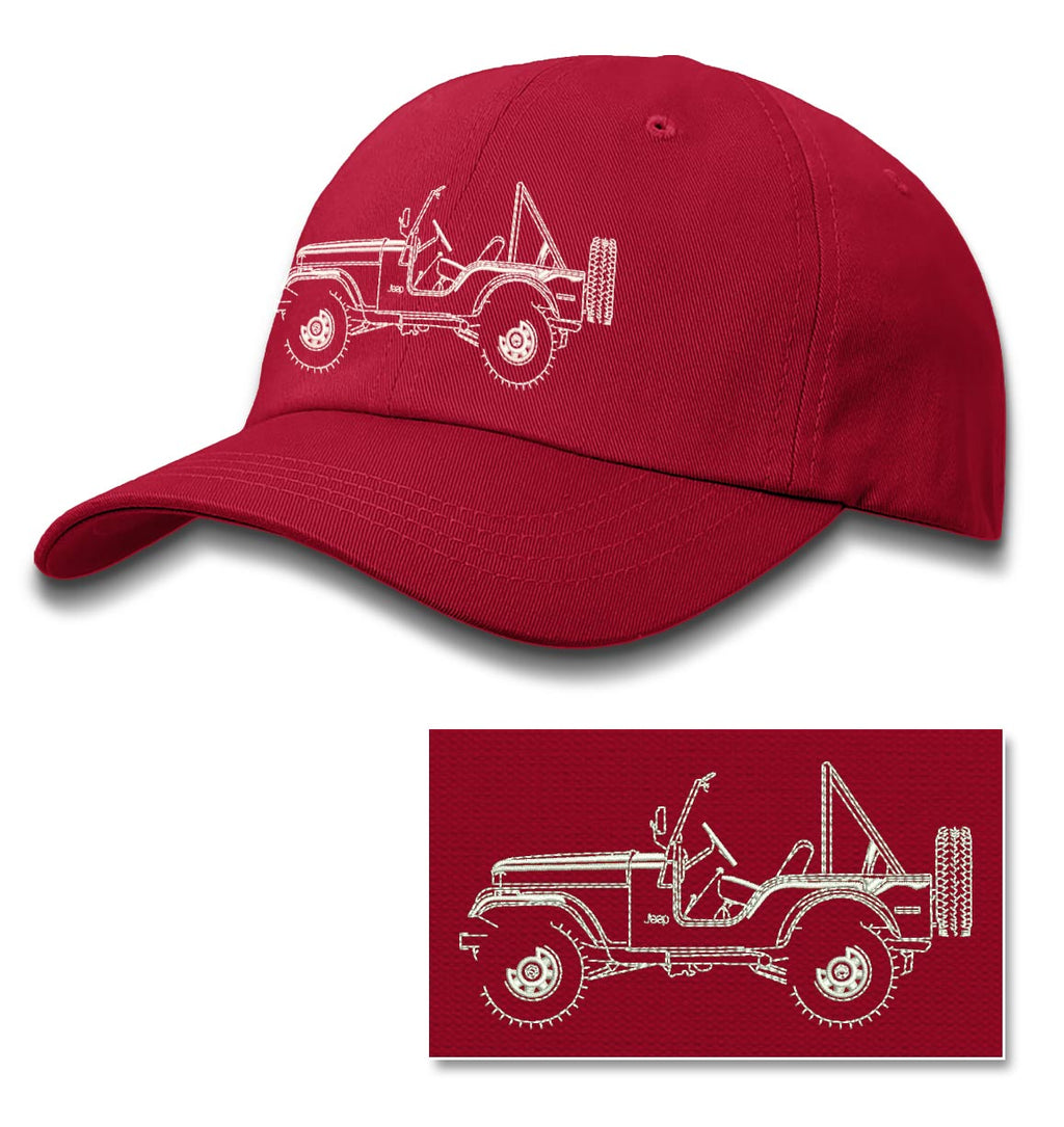 1972 - 1983 Jeep CJ5 CJ-5 Land Cruiser Baseball Cap for Men & Women