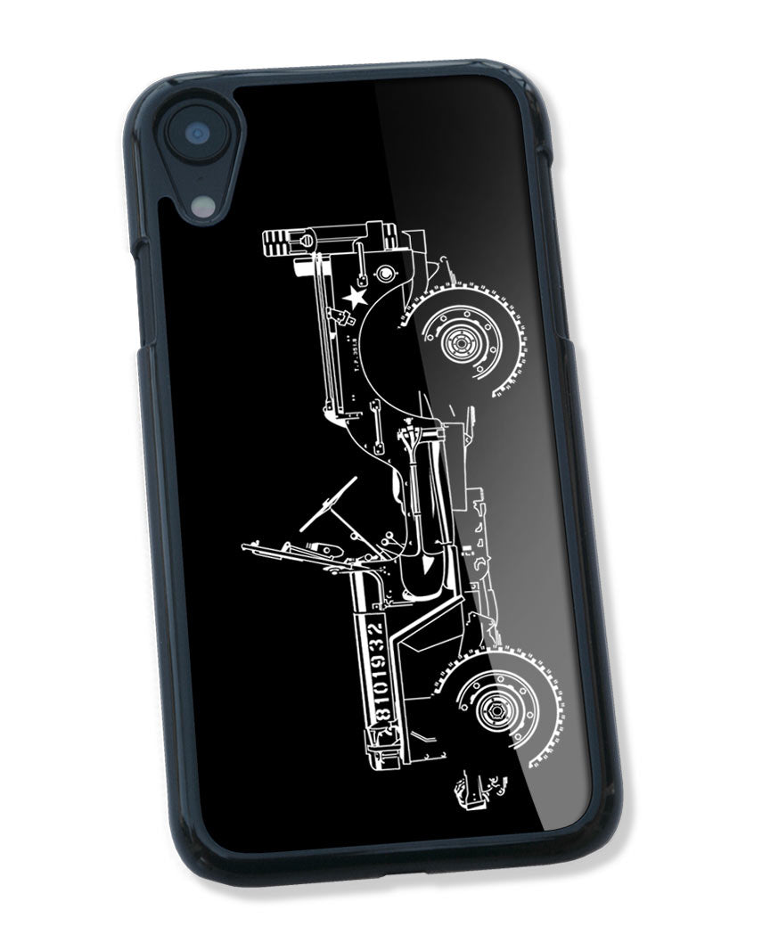 Jeep Willys WWII 1941 - 1945 Smartphone Case - Side View