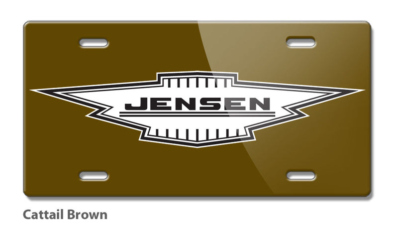 Jensen Badge Emblem Novelty License Plate - Vintage Emblem